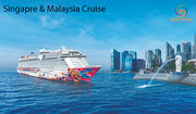 Singapore and Malaysia Tour with Cruise  from India -GalaxyTourism